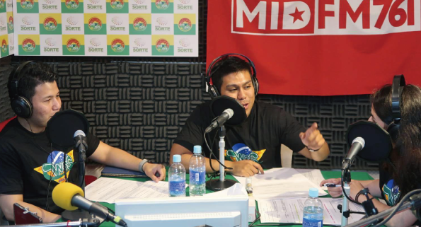 Apresentação da rádio